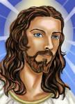 Jesus' eyes