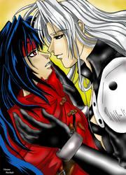 Seph and Vincent...soft yaoi by viviannefair