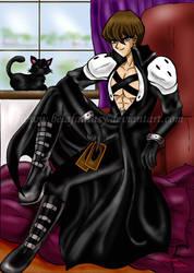 Kaiba cosplays...Sephiroth by viviannefair