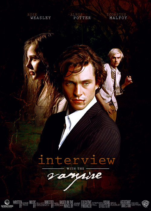 Interview With The Vampire Remake Poster By