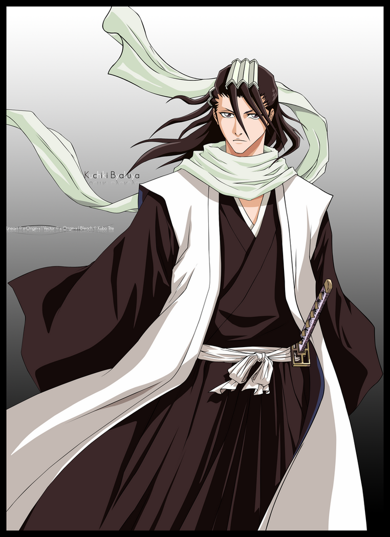 - Kuchiki Byakuya - by x-Origin-x
