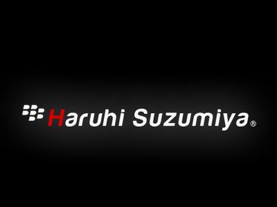 BlackBerry V.Haruhi Suzumiya by x-Origin-x