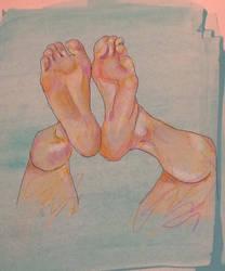 Foot study by sedgeboi