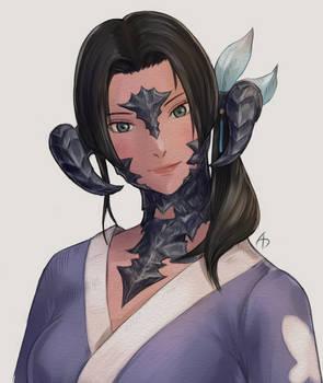 Xaela in yukata