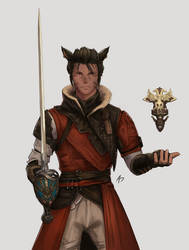 Red Mage Miqote