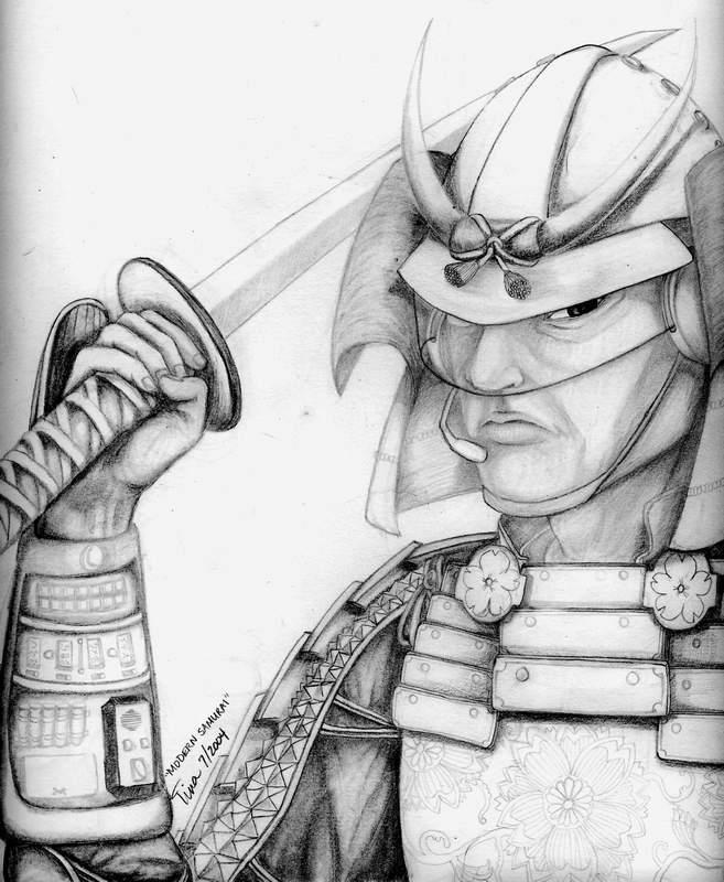 Modern Samurai by Perplexity66 on DeviantArt