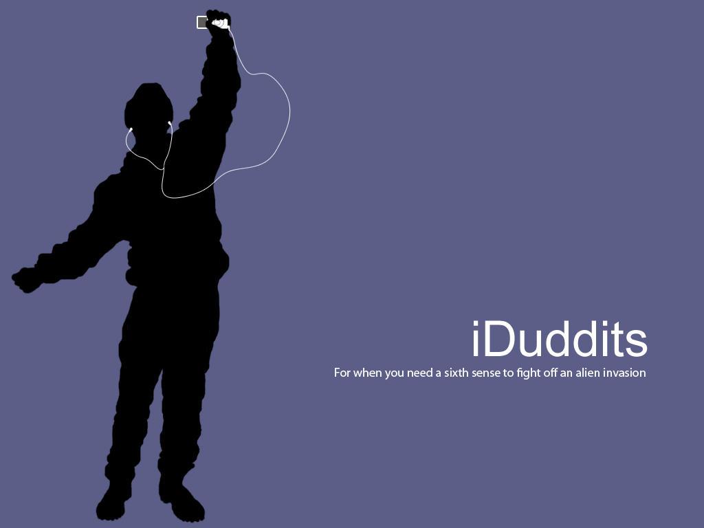 iDuddits iPod Wallpaper by Anathema-Maranatha