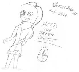 = Acid the Irken Chemist = by Asriel20Asi