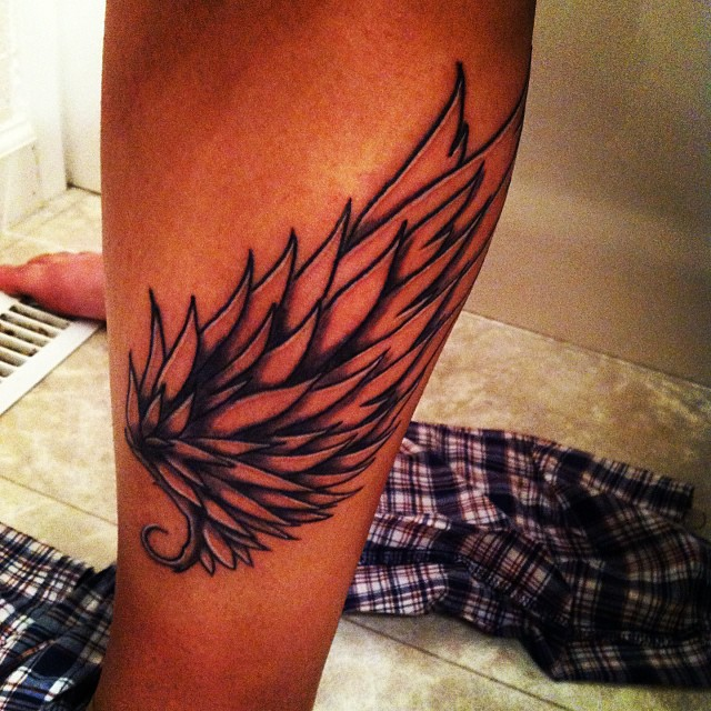 hermes wings tattoo by kannasincolour on deviantart. Black Bedroom Furniture Sets. Home Design Ideas