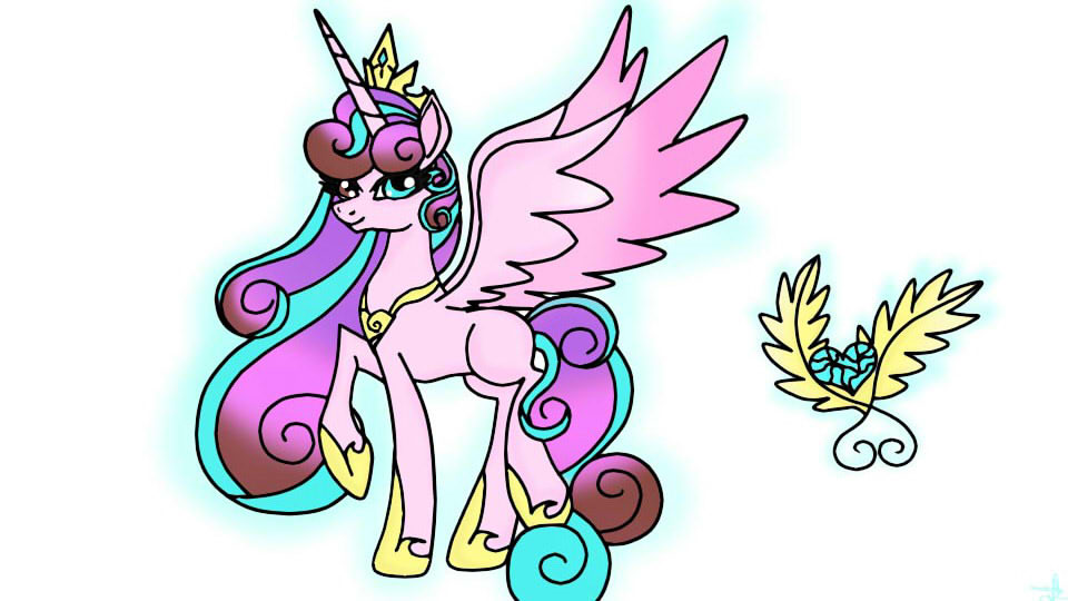 Princess Wheat Heart by OwOCrystalCatOwO