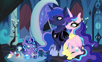The Princess Of The Night by OwOCrystalCatOwO