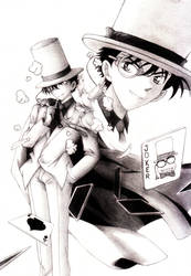 Kaito Kid by Azareea