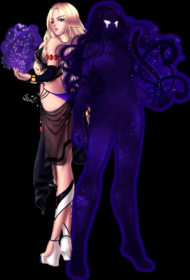 Leness Savant - demon form by Azareea
