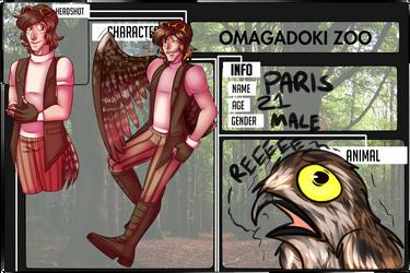 [Omadobu] Paris the Potoo by PomSpom
