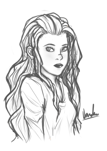 Lydia Martin Sketch By Hamlinfly On Deviantart