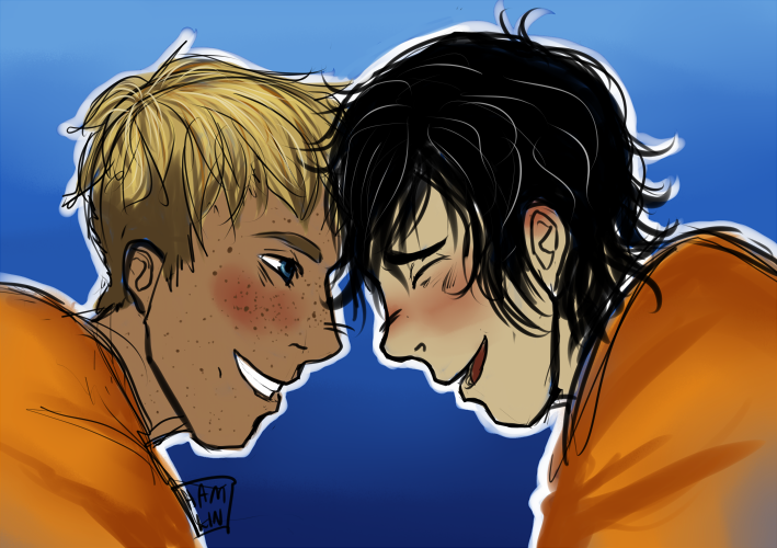 solangelo doodle by hamlinfly