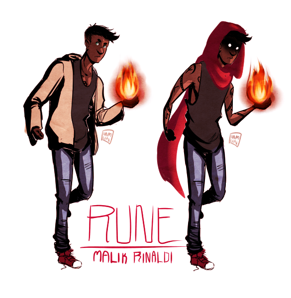 Character design - Malik by hamlinfly