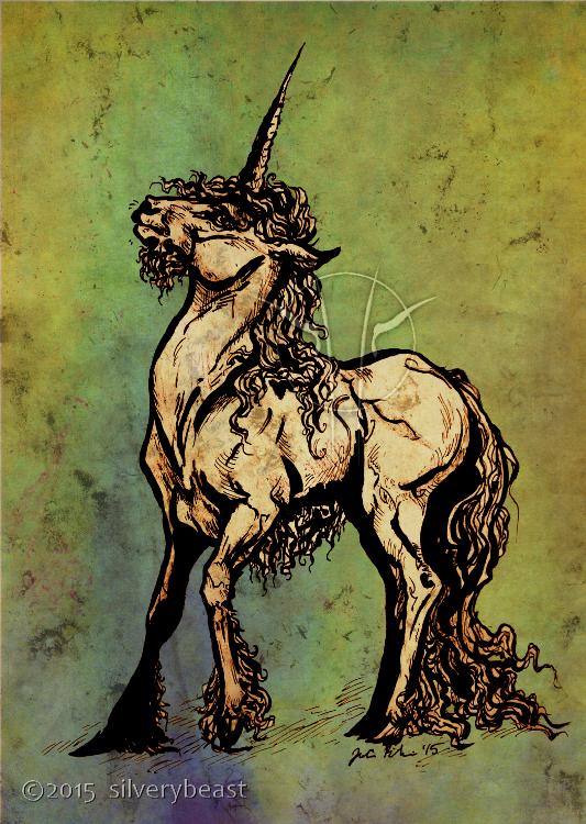 Unicorne by silverybeast