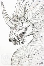 Inktober #23 | Plaguebringer