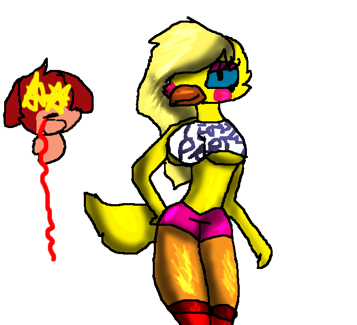 Chica Toy Chica Favourites By Goldenafro On Deviantart: Toy Chica By WolfLover2434 On DeviantArt