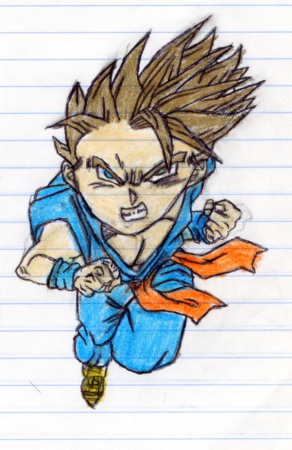 Maercon Hairstyle: Super Saiyan Trunks 5