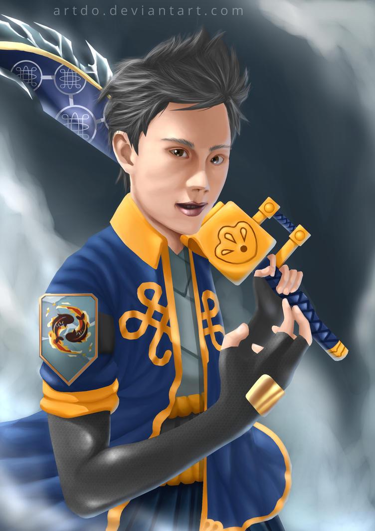ArtDO as Ninja Saga by ArtDO