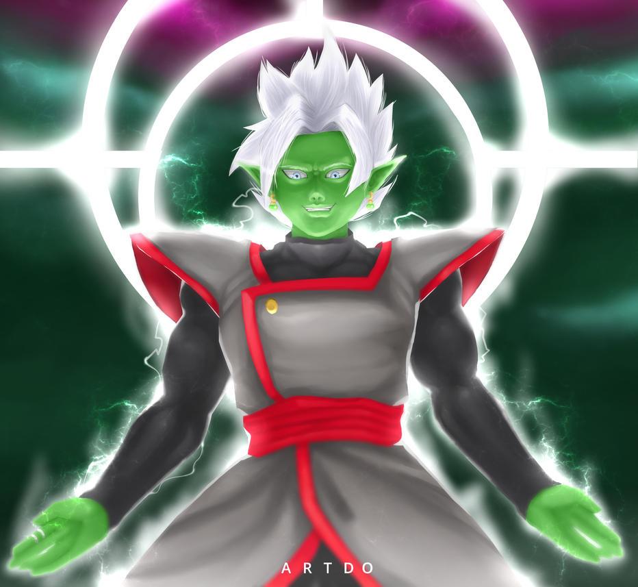 Zamas fusion Black Goku by ArtDO