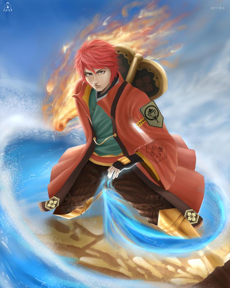 Fanart Ninja Saga by ArtDO