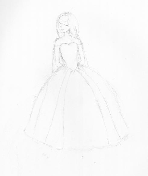 Rapunzel Ballgown 1 by XRobinPercyBeatlesX