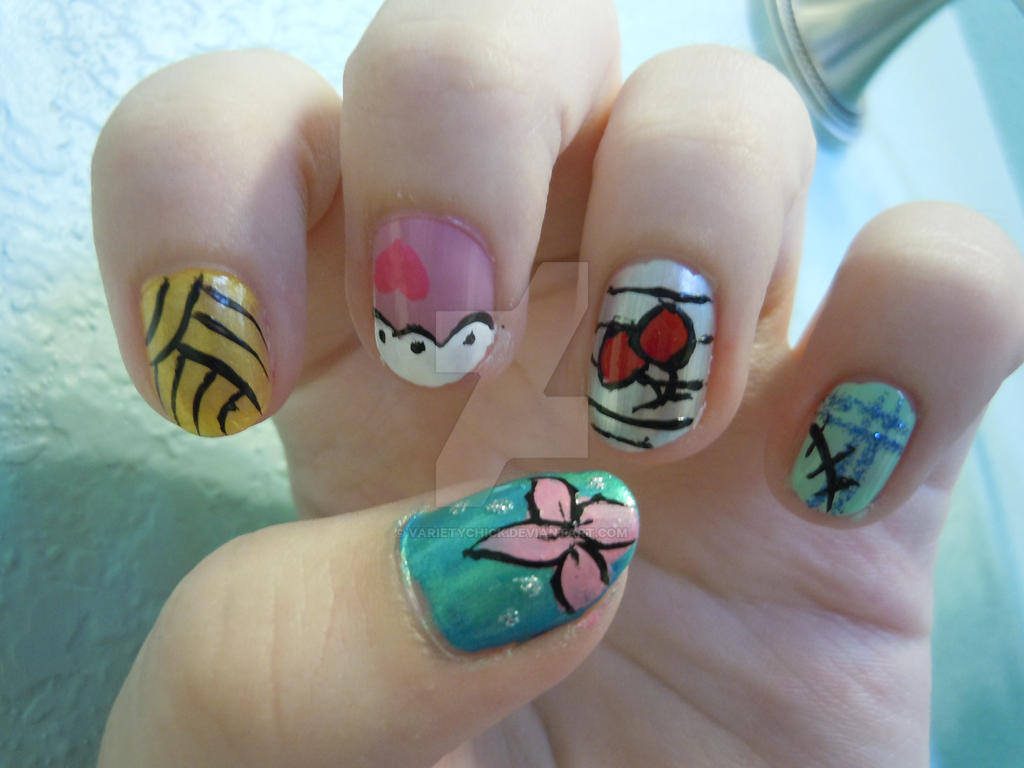 Monster High Nail Designs By Varietychick On Deviantart