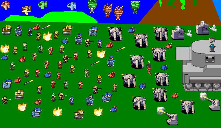 BH invades Super Famicom Wars by stupiedmariobros