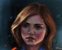 Clara Oswald s9 -- Doctor Who by MrBorsch