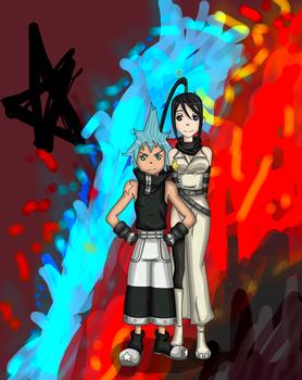 Tsubaki and Black Star - Prize for miying