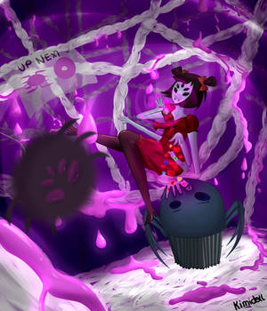 [Undertale]Muffet - Everytime you die she feeds it by Kimidoll