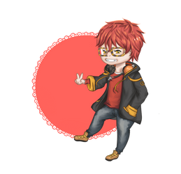 [Mystic Messenger] Agent 707 at your service !
