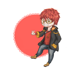 [Mystic Messenger] Agent 707 at your service ! by Kimidoll