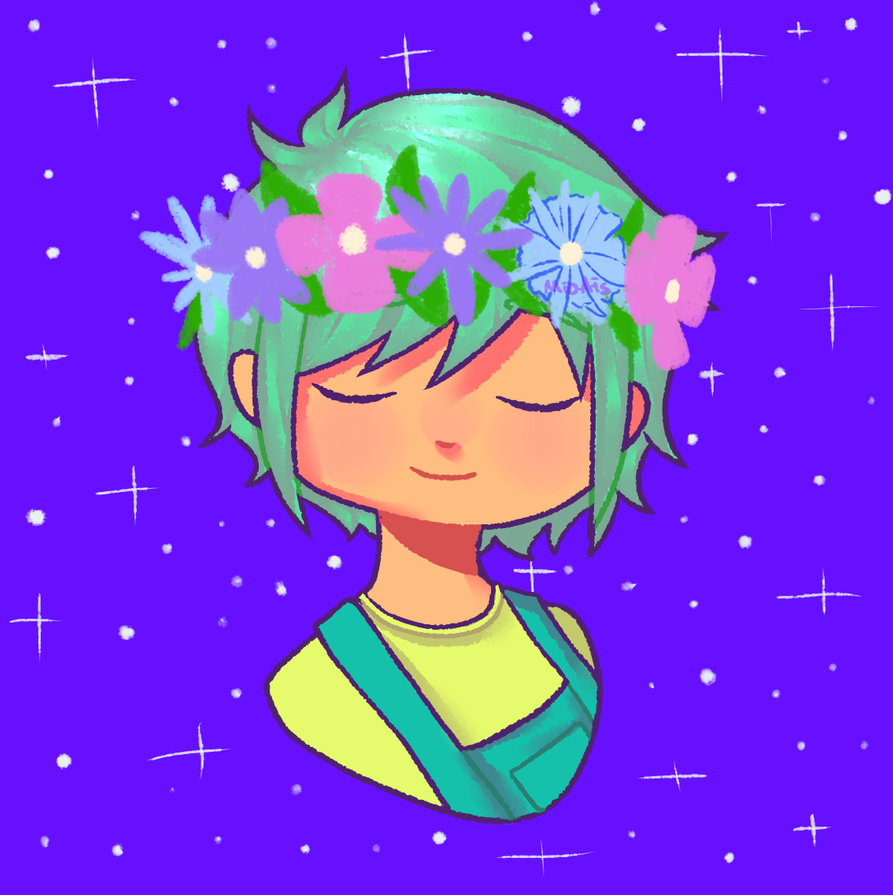 f l o w e r  boy by AstronomicalCandy