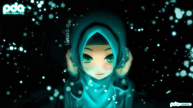 Hatsune Miku Muslimah Syle!