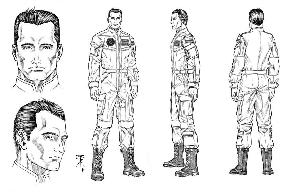 Character Model Sheet Template Hero Character Model Sheet