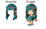 .:Fantage Mixed Hair:.