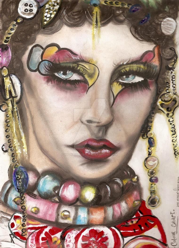 colour craft . face chart by xALWAYSxINxVAINx