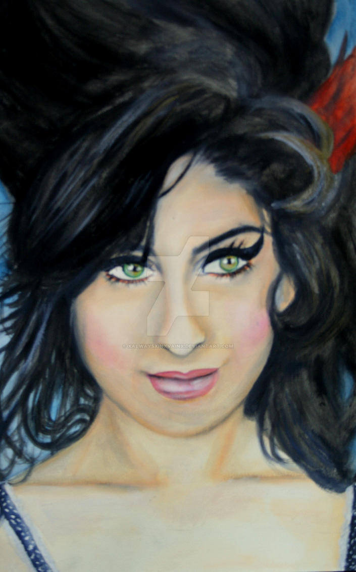 amy winehouse by xALWAYSxINxVAINx