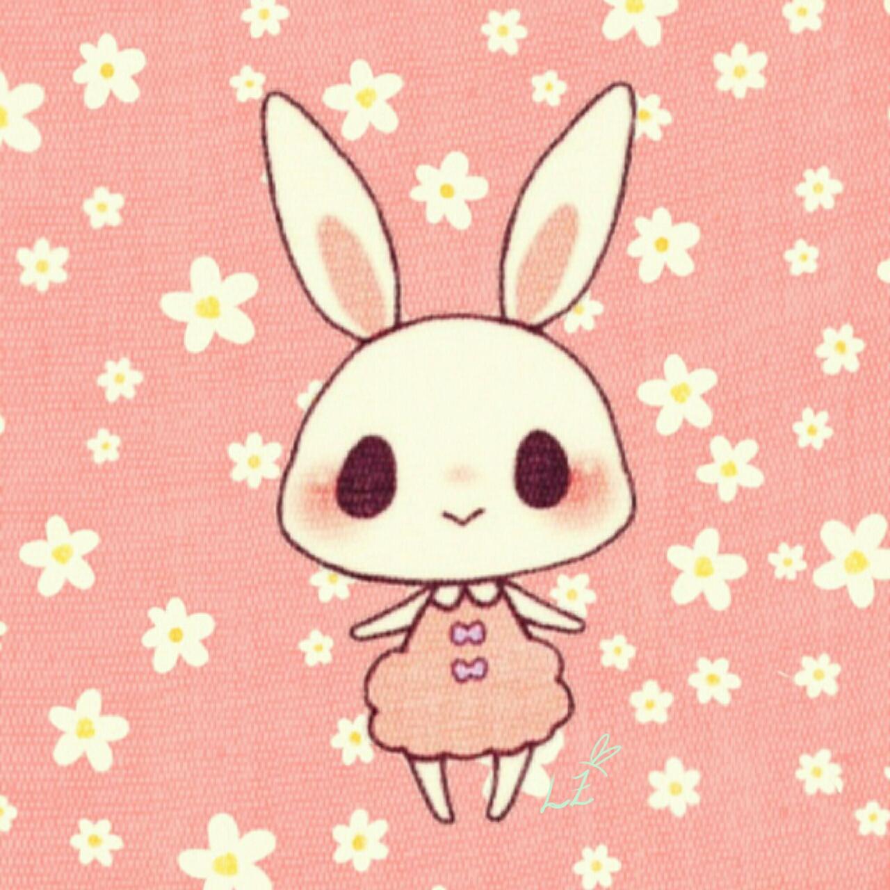 Kawaii bunny fondo de pantalla bloqueo by lazukiztrukiz on for Fondo de pantalla bloqueo