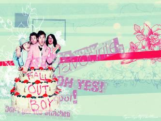 Fall Out Boy Wallpaper by EyesSizeOfTheMoon