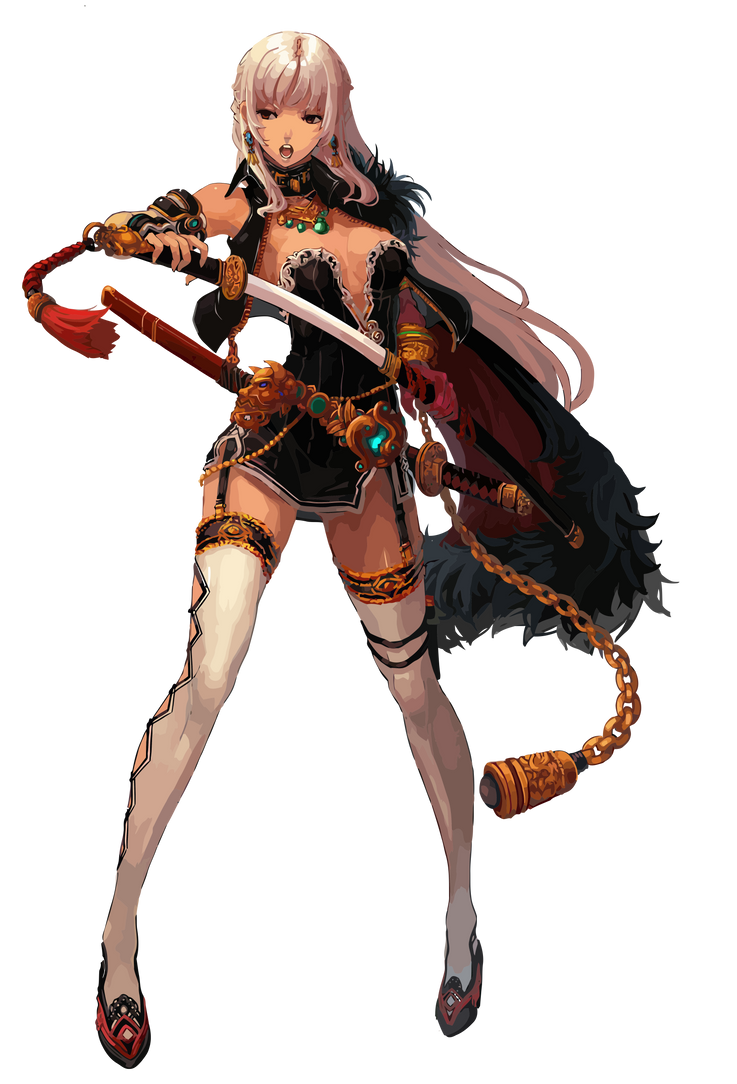 Dungeon Fighter online Female Slayer by TooneGeminiElf
