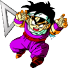 DBZ Gohan Mouse pointer by TooneGeminiElf