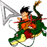 DB Kid Goku Mouse pointer by TooneGeminiElf
