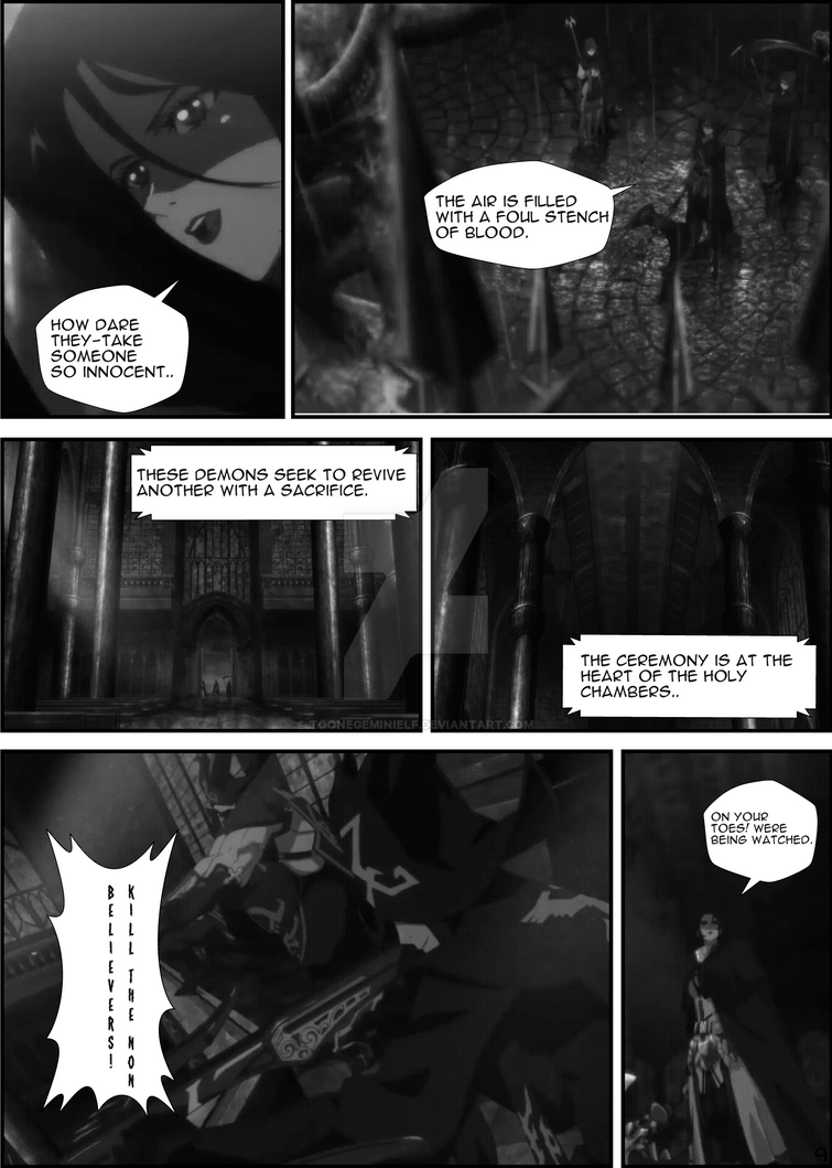 DFO  DNF Female Priest page 7 by TooneGeminiElf