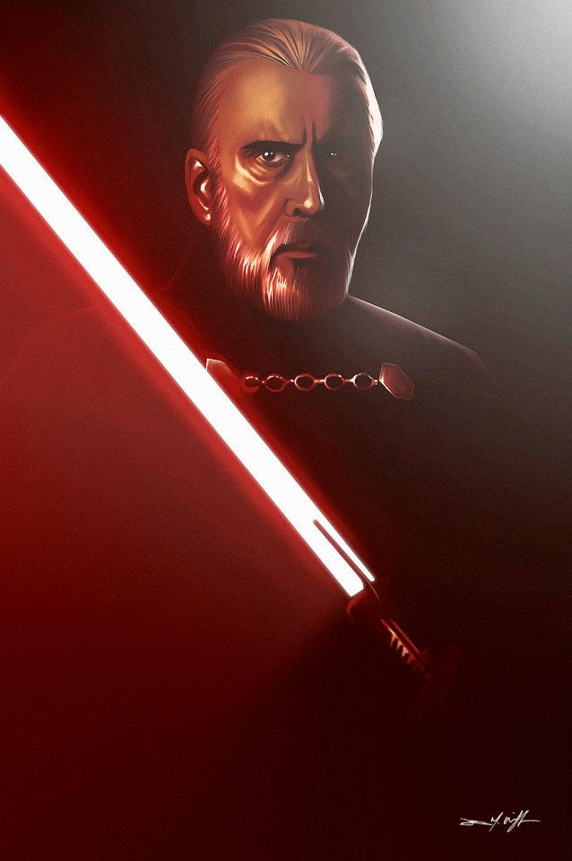 DARTH TYRANUS/ COUNT DOOKU by willman1701