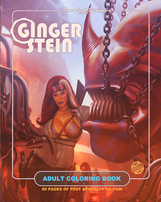 GINGER-STEIN COLORING BOOK COVER by willman1701